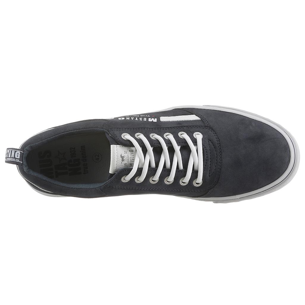 Mustang Shoes Sneaker, mit Kontrast-Besatz