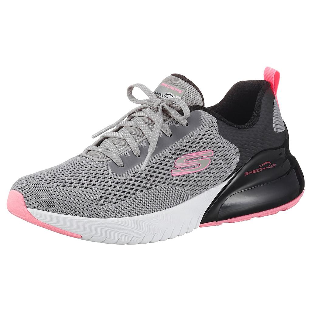 Skechers Slip-On Sneaker »SKECH-AIR STRATUS - WIND BREEZE«, mit Zierschnürung
