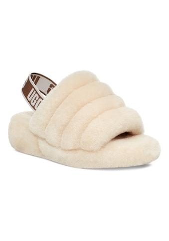 UGG Sandale »Fluff Yeah«, mit elastischem Logo-Strap kaufen