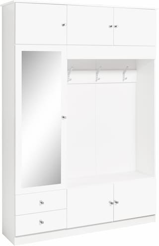 borchardt m bel kompaktgarderobe kompakta mit spiegelt r kaufen bei otto. Black Bedroom Furniture Sets. Home Design Ideas