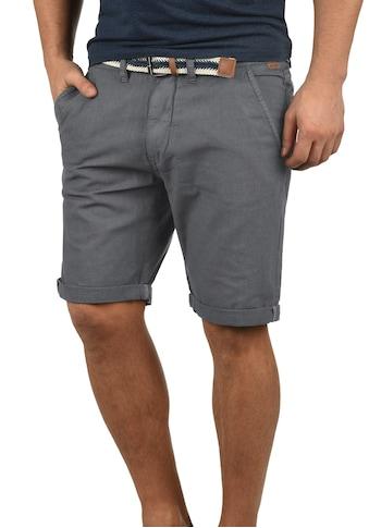Indicode Chinoshorts »Mews«, (mit abnehmbarem Gürtel), kurze Hose mit Gürtel kaufen