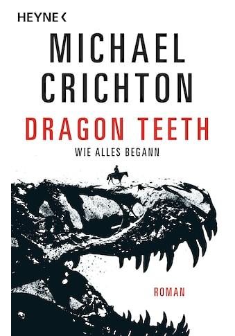 Buch Dragon Teeth  -  Wie alles begann / Michael Crichton; Klaus Berr kaufen