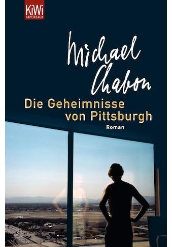 Buch »Geheimnisse von Pittsburgh / Michael Chabon, Denis Scheck« kaufen