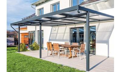 GUTTA Terrassendach »Premium«, BxT: 611x406 cm, Dach Acryl klar kaufen
