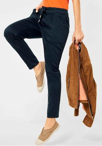Cecil Chinohose »Style Chelsea«, mit elastischem Bund kaufen
