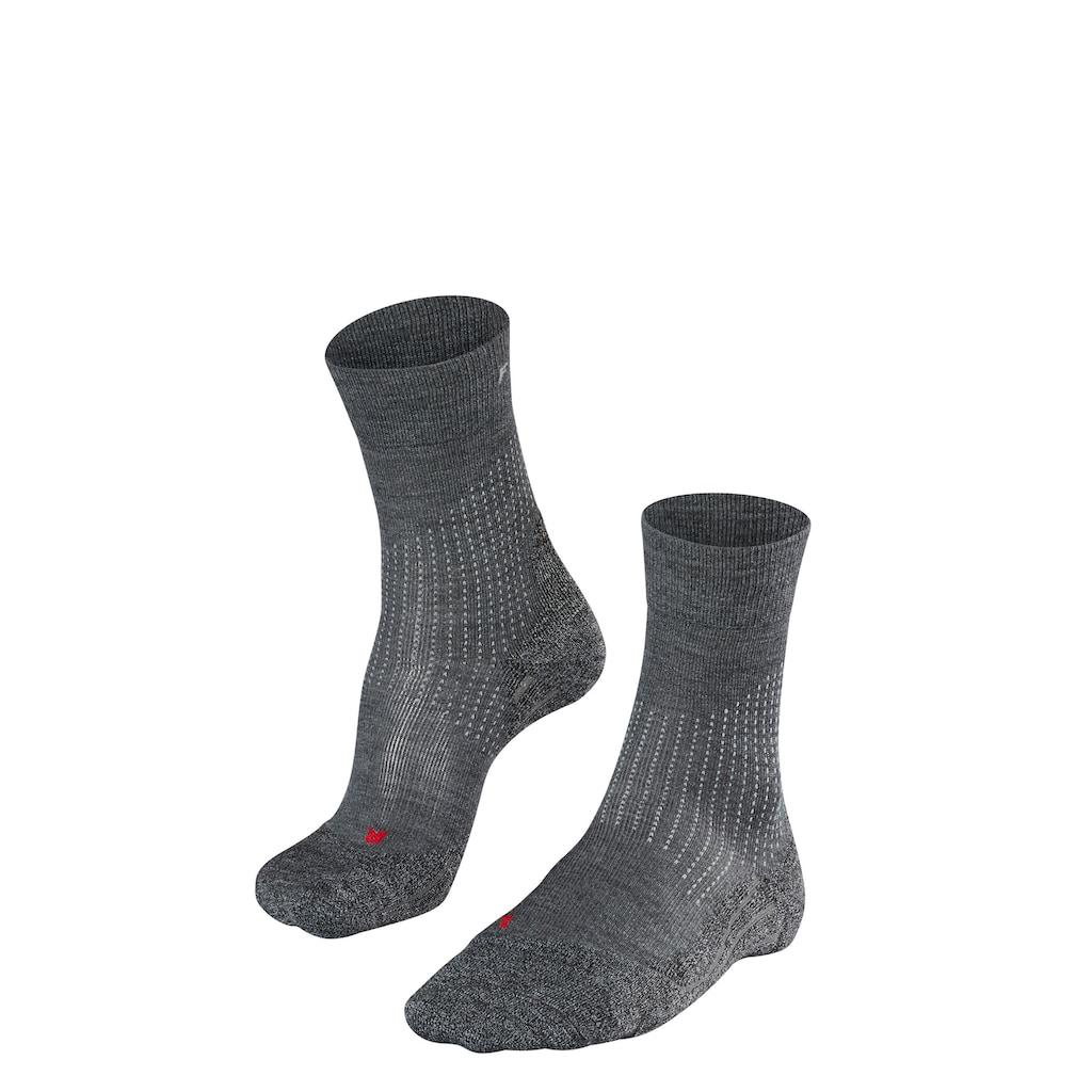 FALKE Funktionssocken »Stabilizing Wool«, (1 Paar), für stabileres Laufgefühl