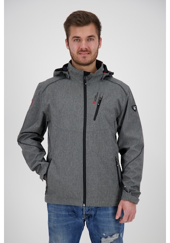 DEPROC Active Softshelljacke »GAROU PEAK MEN«, in edler Melange-Optik kaufen