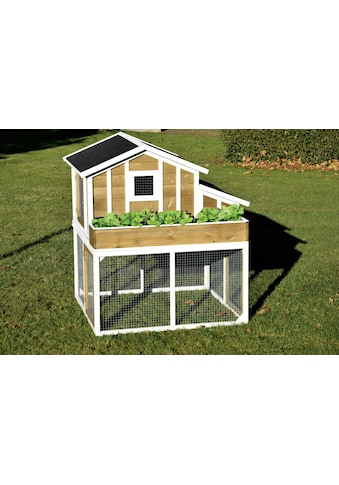 dobar Hühnerstall, mit integriertem Pflanzkasten kaufen