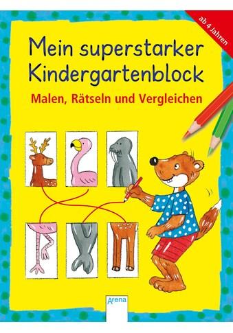Buch »Malen, Rätseln und Vergleichen / Friederike Barnhusen, Lena Roth, Edith Thabet, Viola Reese, Hela Woernle« kaufen