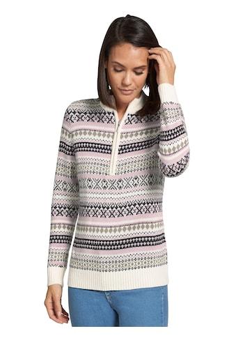 Casual Looks Pullover im aktuellen Norwegermuster kaufen