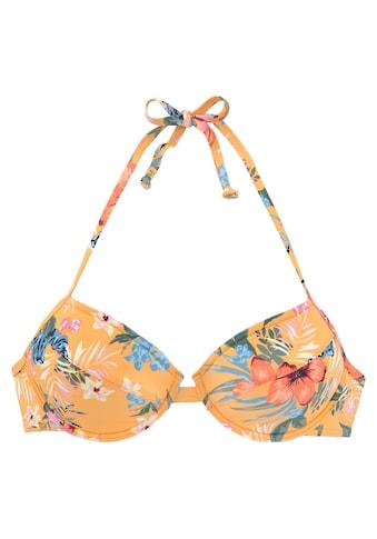 Bench. Push-Up-Bikini-Top »Maui«, mit floralem Design kaufen