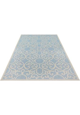 bougari Teppich »Nebo«, rechteckig, 4 mm Höhe, In- und Outdoor geeignet, Flachgewebe,... kaufen