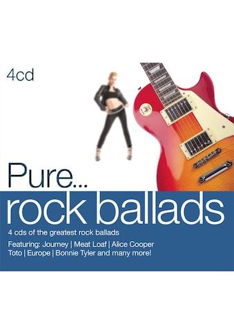 Musik - CD Pure...Rock Ballads / Various, (4 CD) kaufen