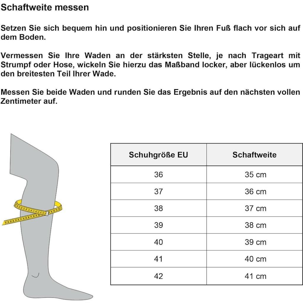 Rieker Stiefel, mit Schnallenverzierung