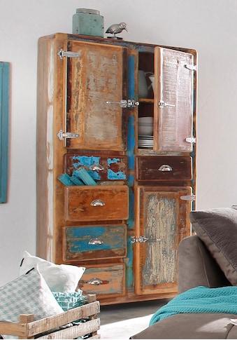 SIT Stauraumschrank »Fridge«, Höhe 190 cm, Shabby Chic, Vintage kaufen