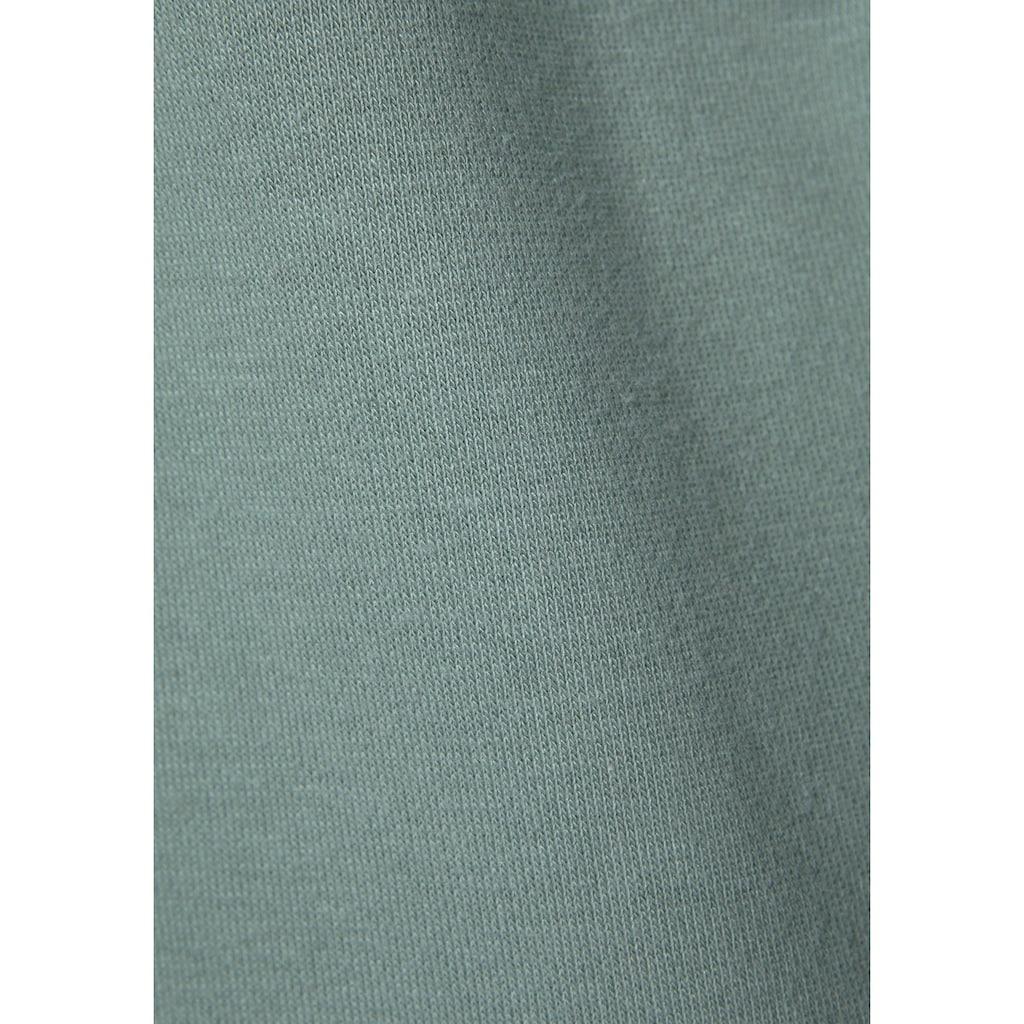 LASCANA ACTIVE Sweatshirt, mit Metallic Logodruck