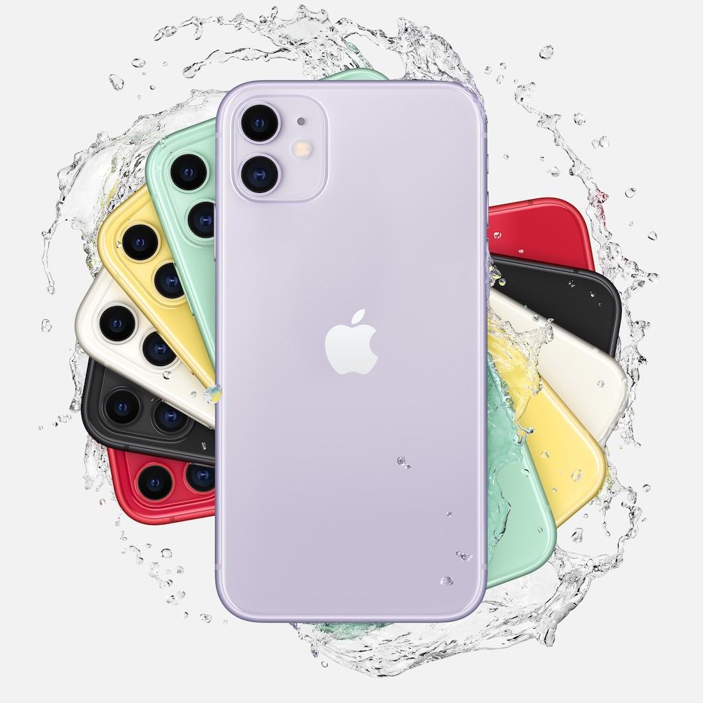 "Apple Smartphone »iPhone 11«, (15,5 cm/6,1 "", 128 GB Speicherplatz, 12 MP Kamera)"