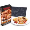 Tefal Herzwaffelplatten »XA8006«, Metall, passend für Tefal SW852D Snack Collection