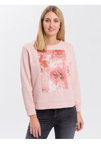 Cross Jeans® Sweatshirt »65204«, Floraler Print kaufen