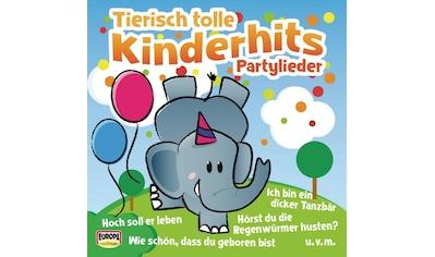 Musik-CD »Tierisch Tolle Kinderhits-Partylieder / KINDERLIEDERBANDE« kaufen