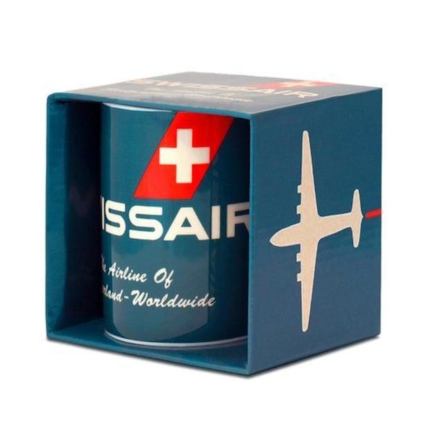 LOGOSHIRT Tasse in coolen Design »Swissair«