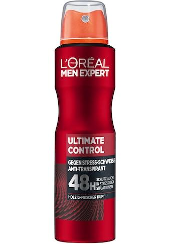 L'ORÉAL PARIS MEN EXPERT Deo-Spray »Ultimate Control«, schützt gegen verschiedene... kaufen