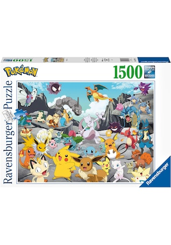 Ravensburger Puzzle »Pokémon Classics«, FSC® - schützt Wald - weltweit; Made in Germany kaufen