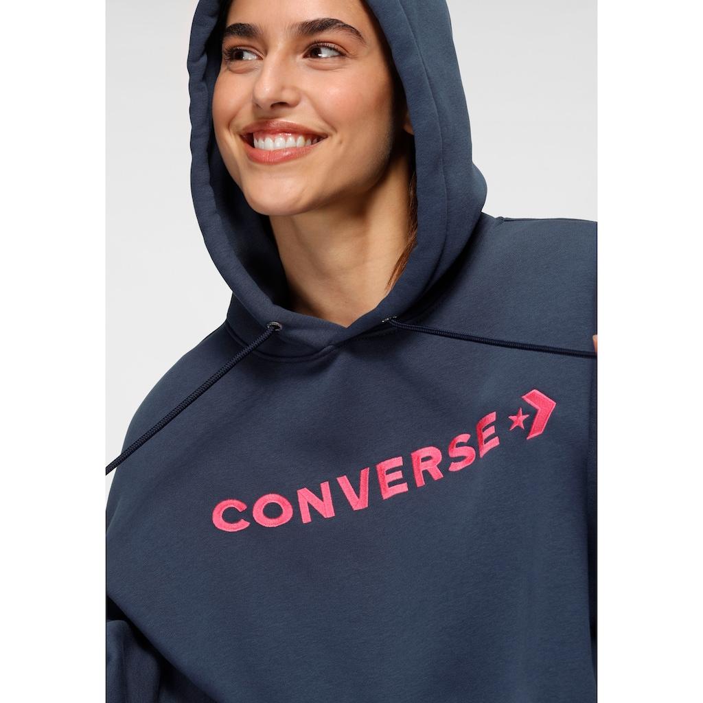 Converse Kapuzensweatshirt »EMBROIDERED OVERSIZED HOODIE«
