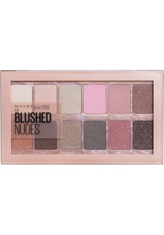 MAYBELLINE NEW YORK Lidschatten-Palette »The Blushed Nudes« kaufen