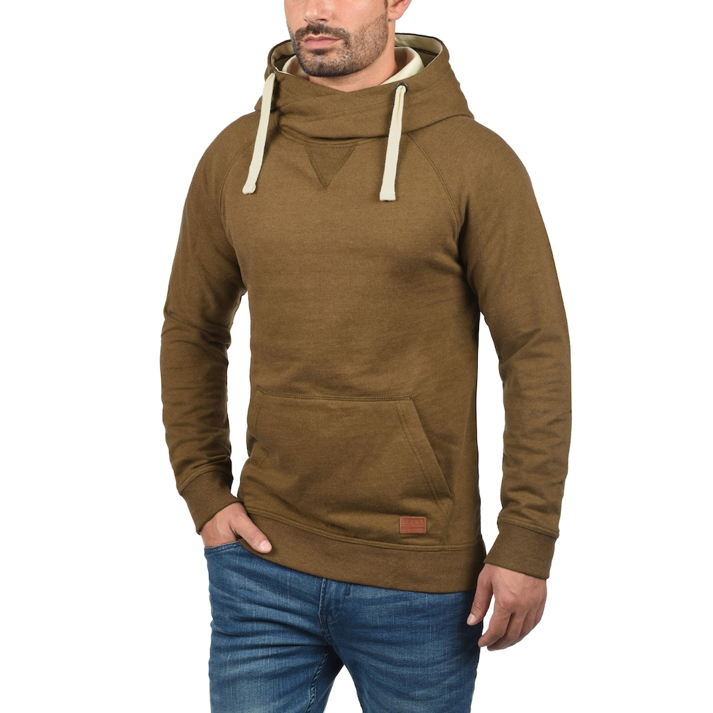 Blend Hoodie »Sales«, Kapuzensweatshirt mit Cross-Over Kragen
