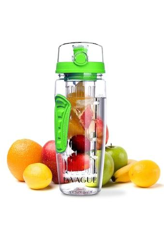 LA VAGUE Trinkflasche »VITALITY«, (1 tlg.), mit Früchtesieb für perfekt aromatisierte Getränke kaufen