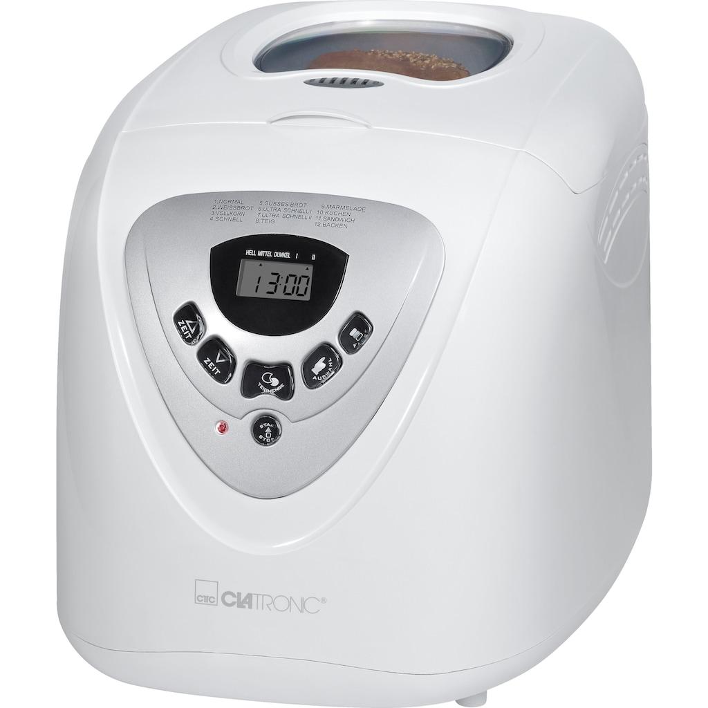 CLATRONIC Brotbackautomat »BBA 3505«, 12 Programme, 600 W