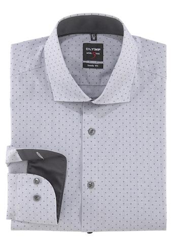 OLYMP Businesshemd »Level Five body fit«, dezenter Mustermix kaufen