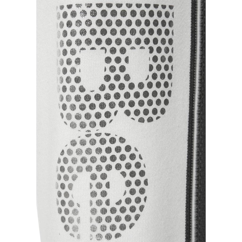 Bench. Sweathose, mit Logodruck in Metalloptik