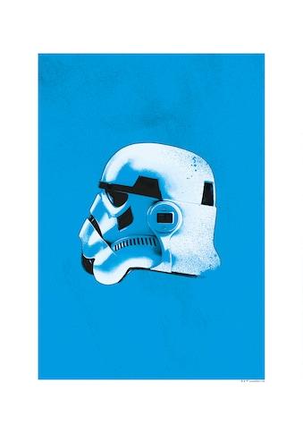 Komar Poster »Star Wars Classic Helmets Stormtrooper«, Star Wars kaufen
