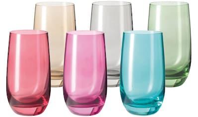 LEONARDO Glas »Sora«, (Set, 6 tlg., 6), Colori Qualität, 390 ml kaufen