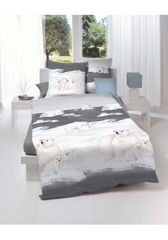 Kaeppel Bettwäsche »Nordpol«, mit Eisbären kaufen