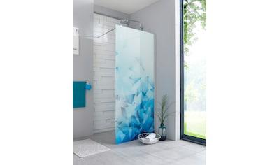 maw Walk-in-Dusche »Relax«, Breite 120 cm, Bildmotiv, Duschabtrennung kaufen