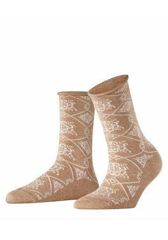 Esprit Socken »Flower Pearl«, (1 Paar), mit Blumenmuster kaufen