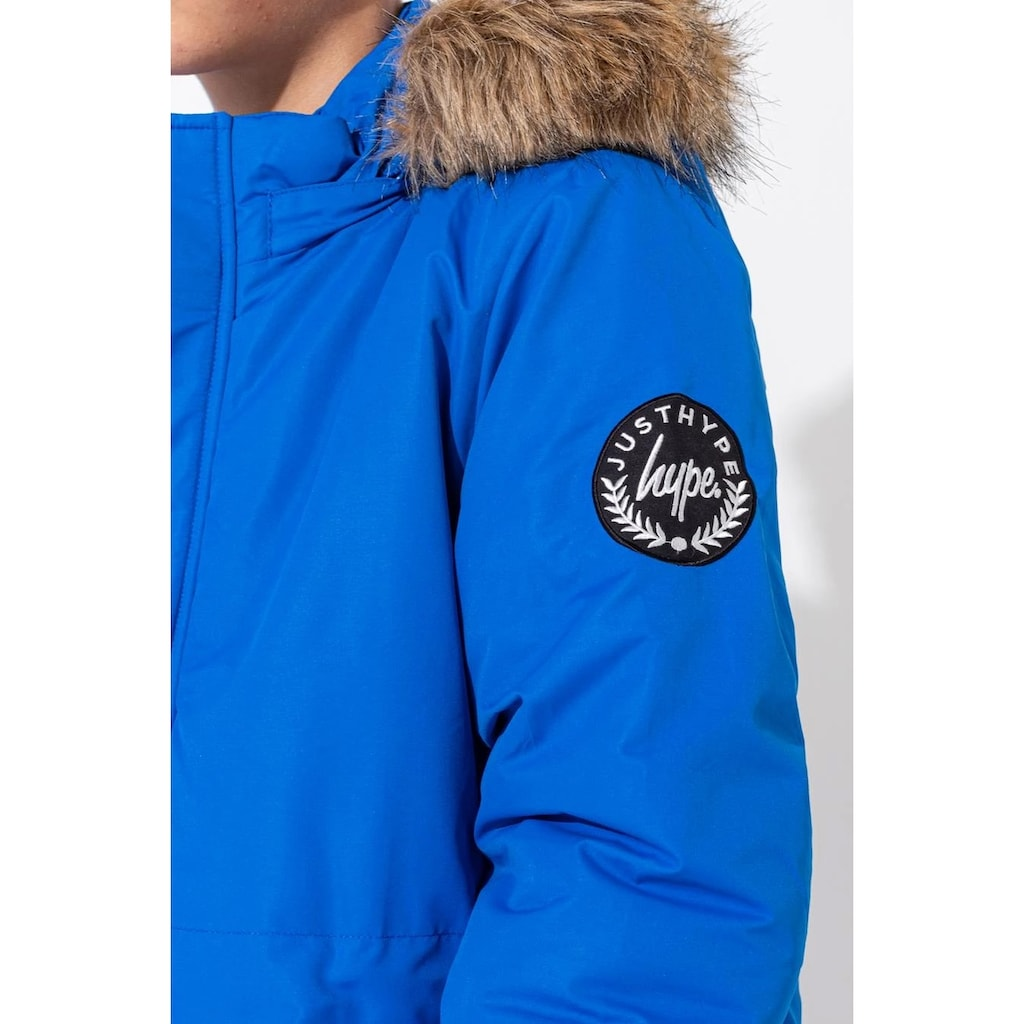 Hype Winterjacke »Jungen mit Logo-Wappen am Ärmel«