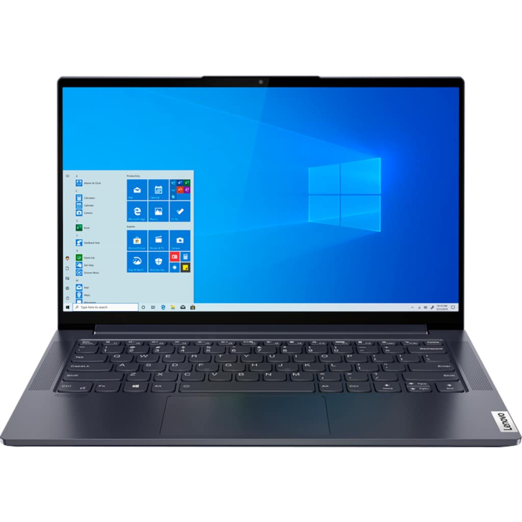 "Lenovo Notebook »Yoga Slim7 14ITL05«, (35,6 cm/14 "" Intel Core i5 Iris© Xe Graphics\r\n 512 GB SSD), Lenovo Premium Care 2 Jahre und Yoga Sleeve"
