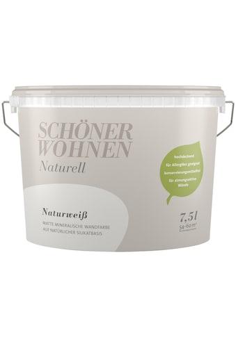 SCHÖNER WOHNEN-Kollektion Wand- und Deckenfarbe »Naturell Naturweiß«, 7,5 l kaufen