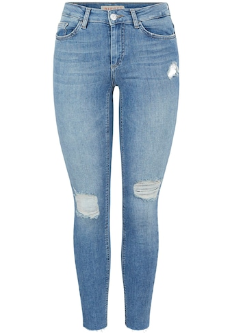 pieces Skinny-fit-Jeans »PCDELLY«, mit Destroyed Effekten kaufen