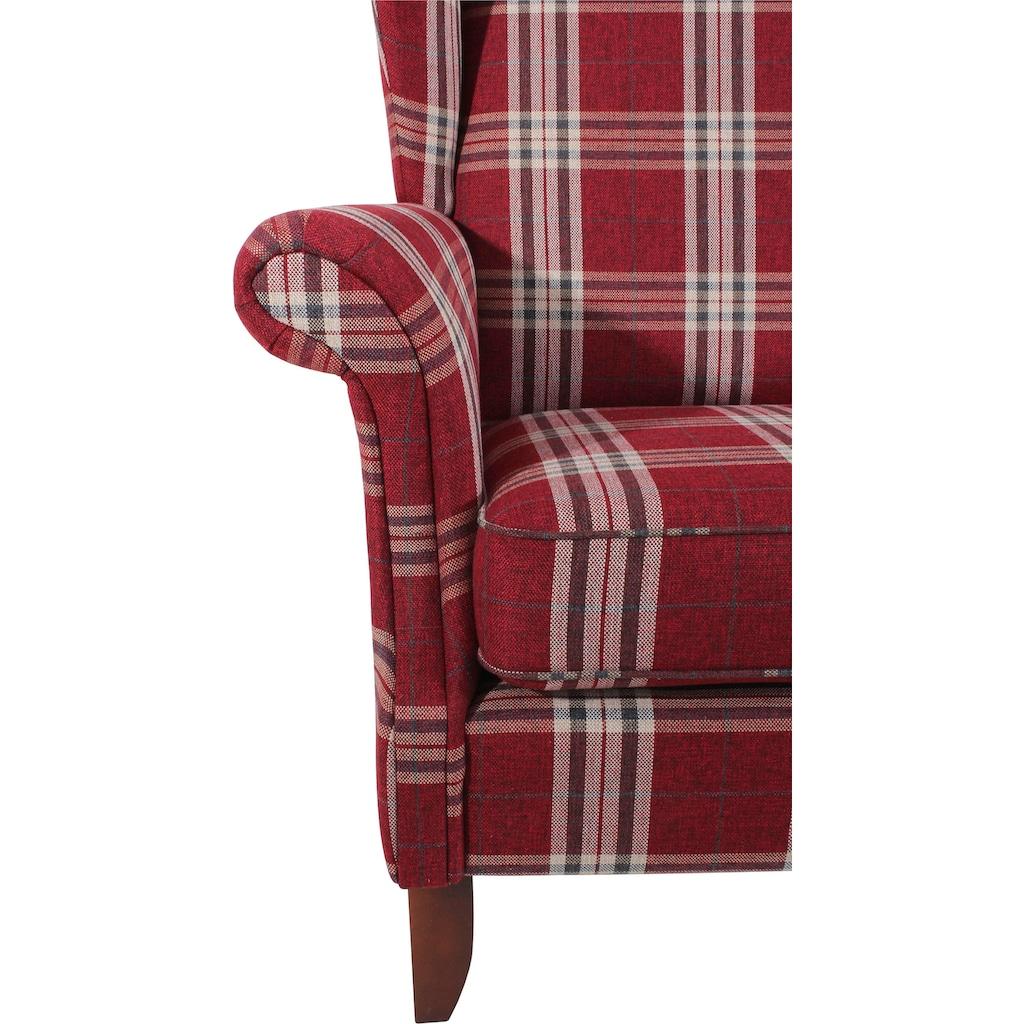 Max Winzer® XXL-Sessel »Valentina«, mit geschwungenen Armlehnen, Breite 114 cm, Big, Hochlehner