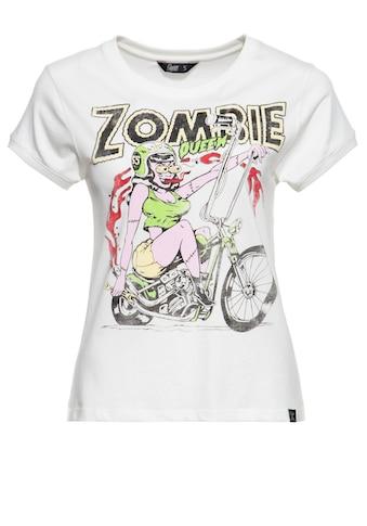 QueenKerosin Print-Shirt »Zombie«, mit Zombie-Print kaufen