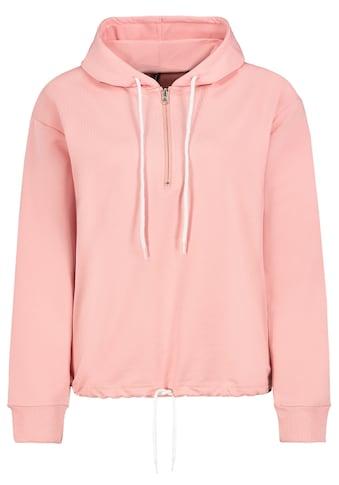 SUBLEVEL Kapuzensweatshirt, mit Half Zip kaufen