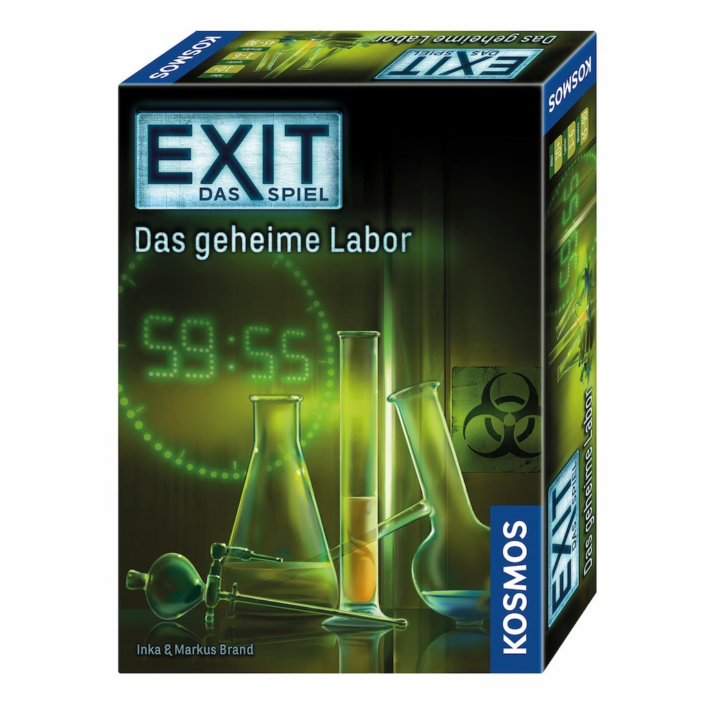 Kosmos Spiel »Exit Das Spiel, Das geheime Labor«, Made in Germany
