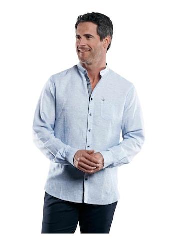 Engbers Stehkragenhemd aus Halbleinen kaufen