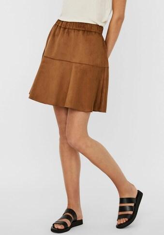 Vero Moda Lederimitatrock »VMSUMMER MY« kaufen