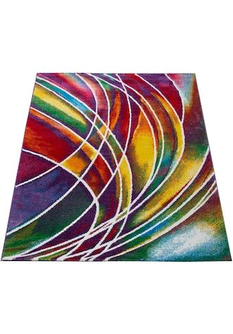 Paco Home Teppich »Canvas 902«, rechteckig, 16 mm Höhe, sehr robust, schmutzabweisend,... kaufen